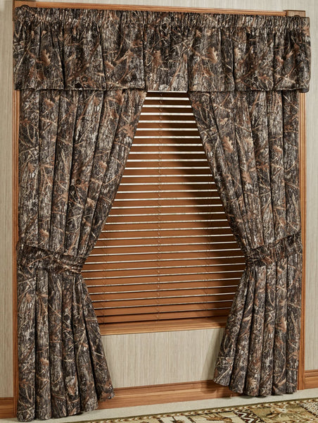 Conceal Brown Window Treatments