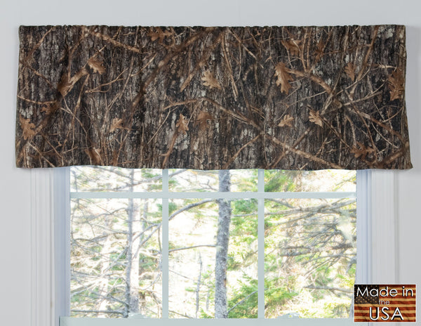 Conceal Brown Valance