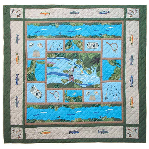 Fly Fishing Quilt