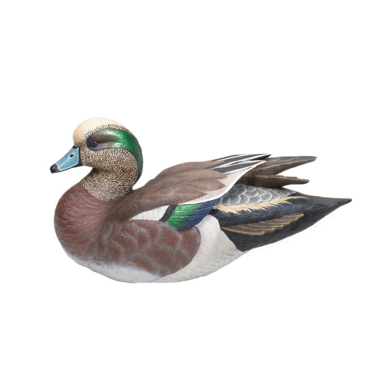 Miniature American Widgeon Waterfowl Sculpture