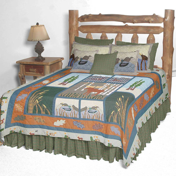 Moose Quilt Bedding Collection