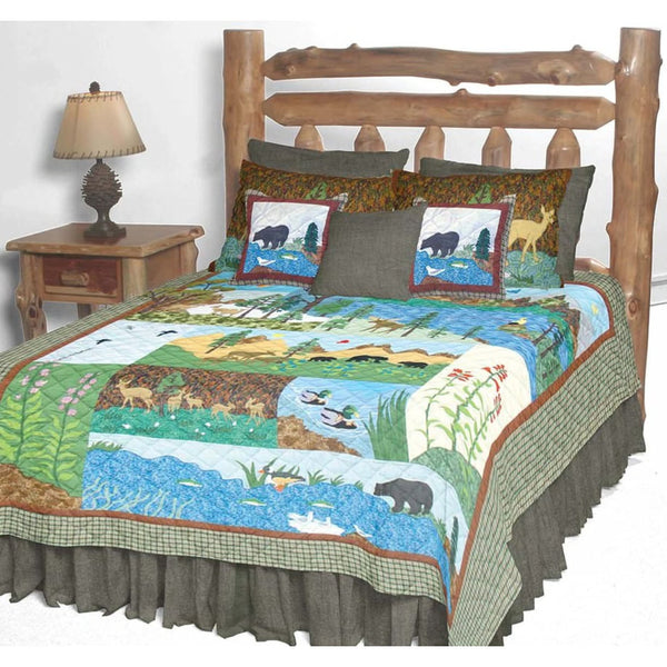 Natures Splendor Quilt Bedding Collection
