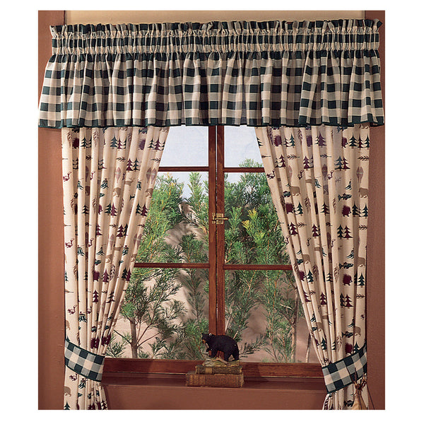 Northern Exposure Drapes & Valance