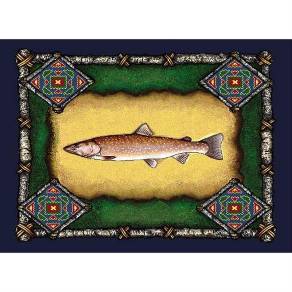 Fish Lodge Tapestry Placemat Set