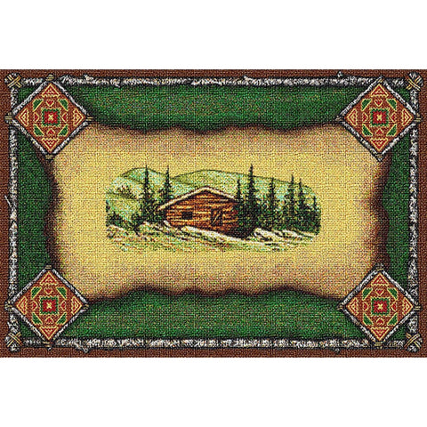 Cabin Lodge Tapestry Placemat Set