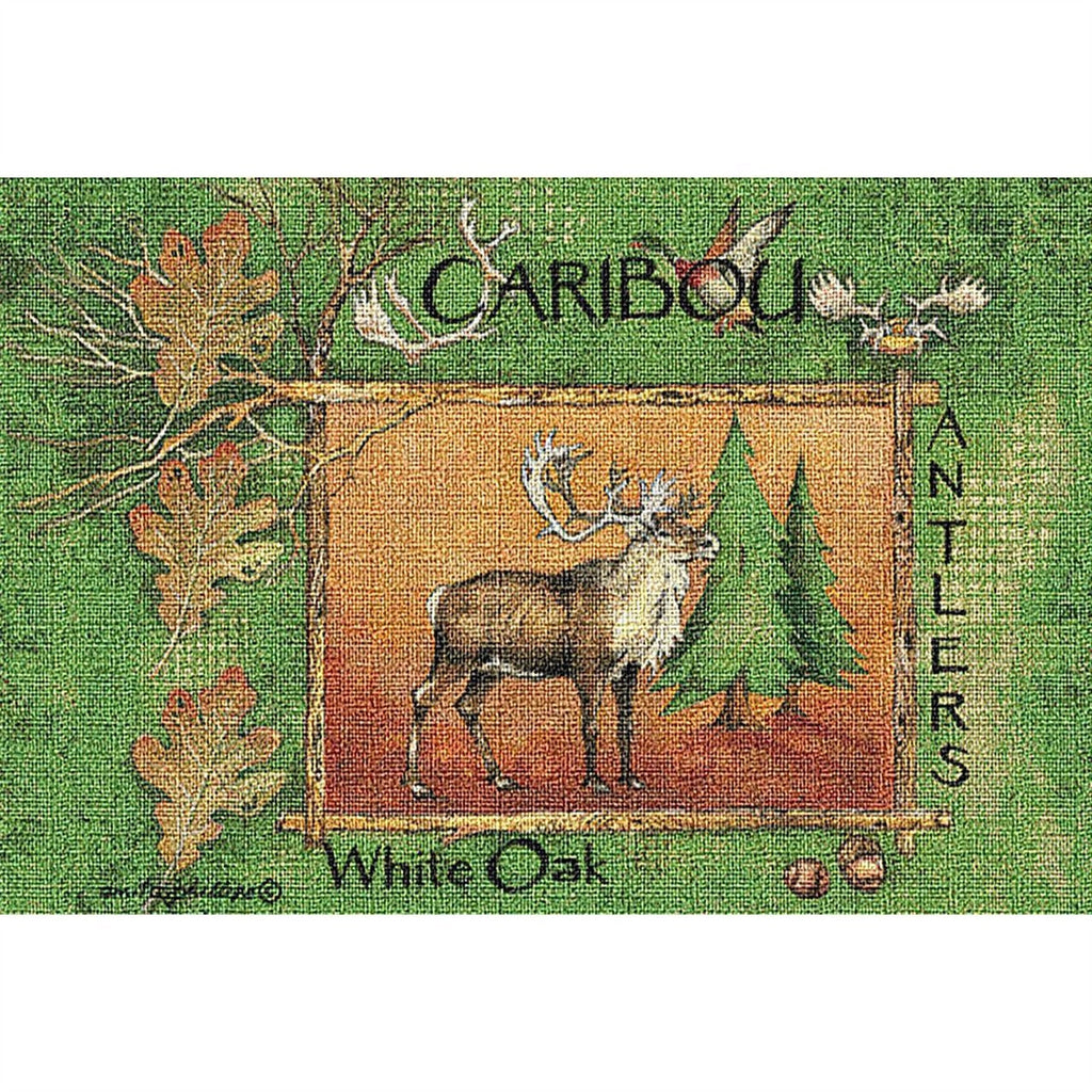 Caribou Tapestry Placemat Set