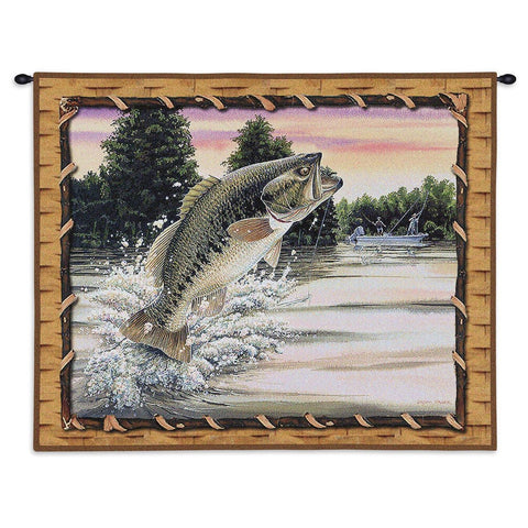 Bass Attack Tapestry Wall Hanging