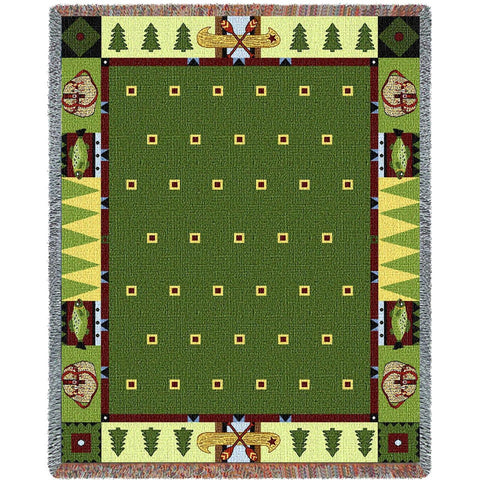Lodge Creek Tapestry Throw Blanket