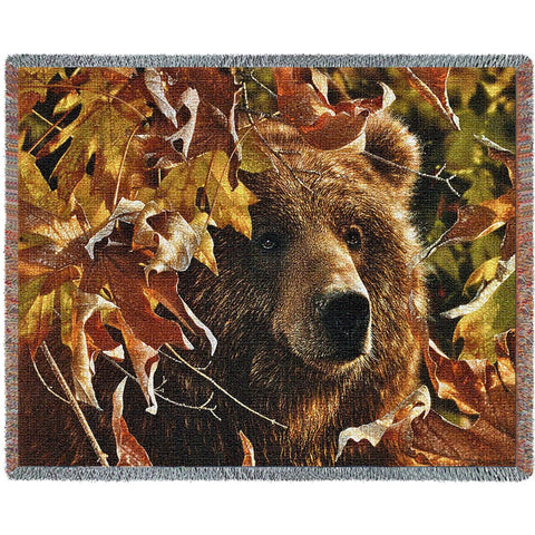 Legend of the Fall Bear Tapestry Throw Blanket