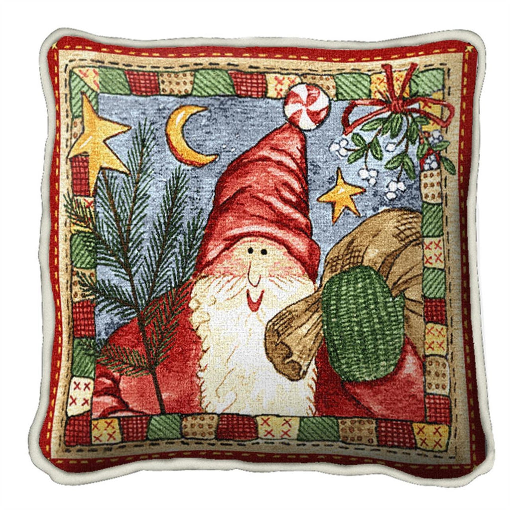 Waiting For Christmas Tapestry Pillow