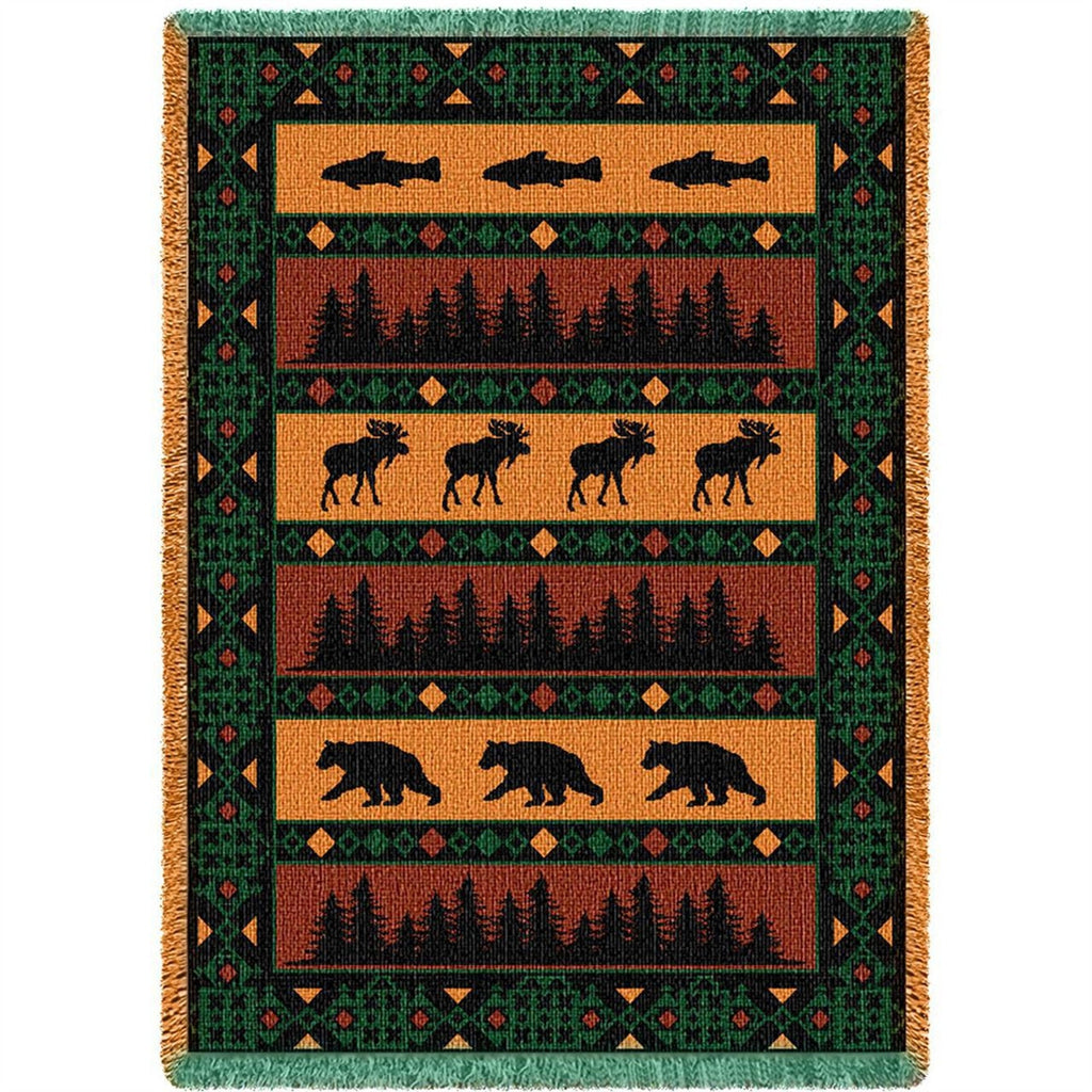 Timberline Tapestry Throw Blanket