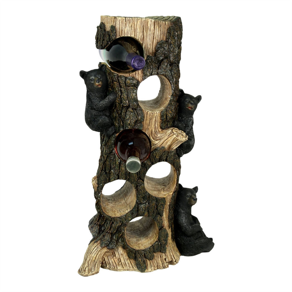 Bear 6 Bottle Wine Holder