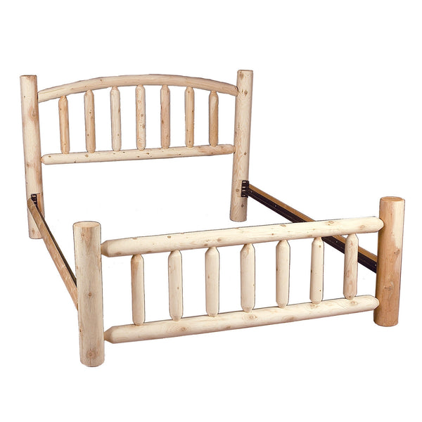 Arched Log Bed