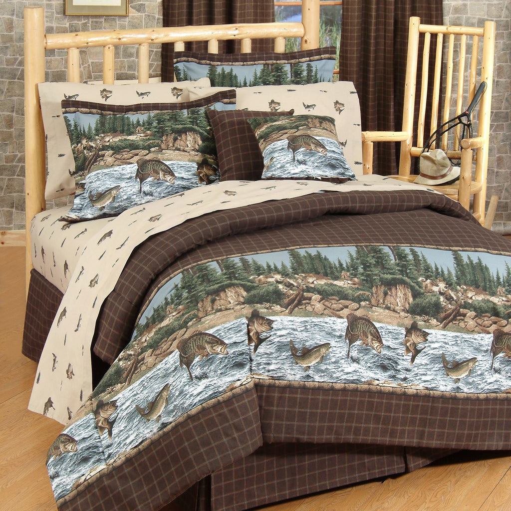 River Fishing Comforter Collection