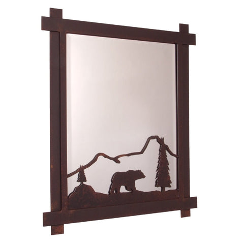 Bear Mountain Mirror (Available in 5 finishes)