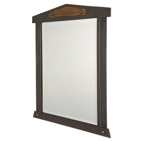 Carlsbad Mirror with Copper Accent (Available in 5 finishes)