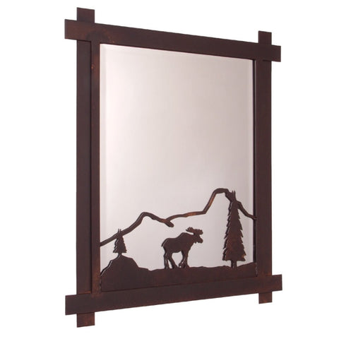 Moose Mountain Mirror (Available in 5 finishes)