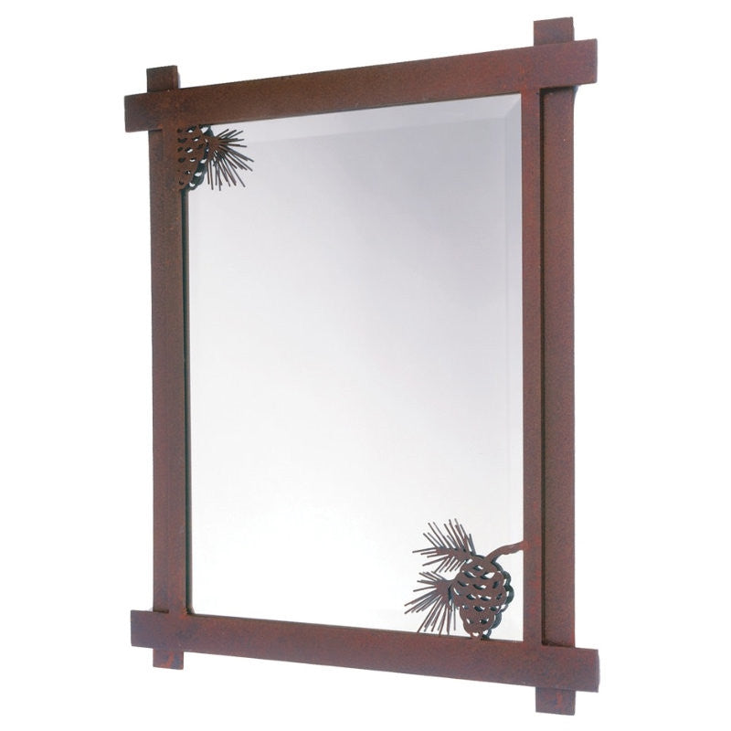 Pinecone Mirror (Available in 5 finishes)