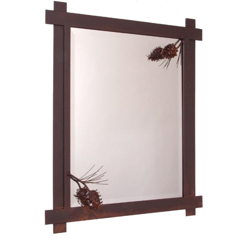 Ponderosa Pine Mirror (Available in 5 finishes)