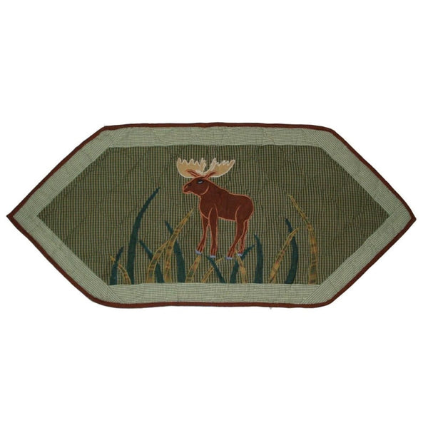 "Moose Table Runner 36"" x 16"""