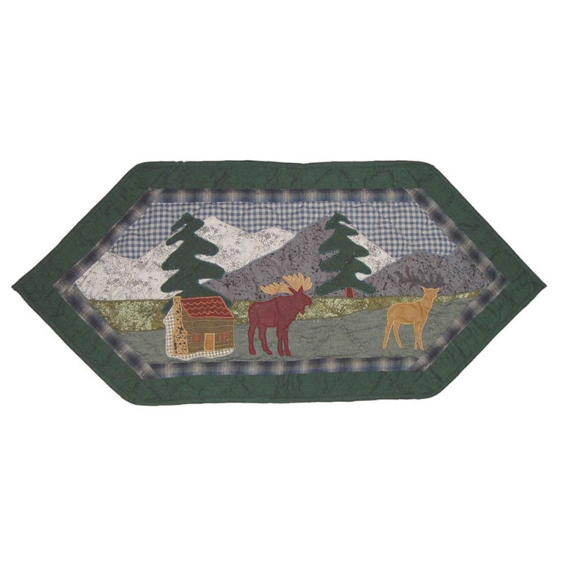 "Northwoods Walk Table Runner 36"" x 16"""
