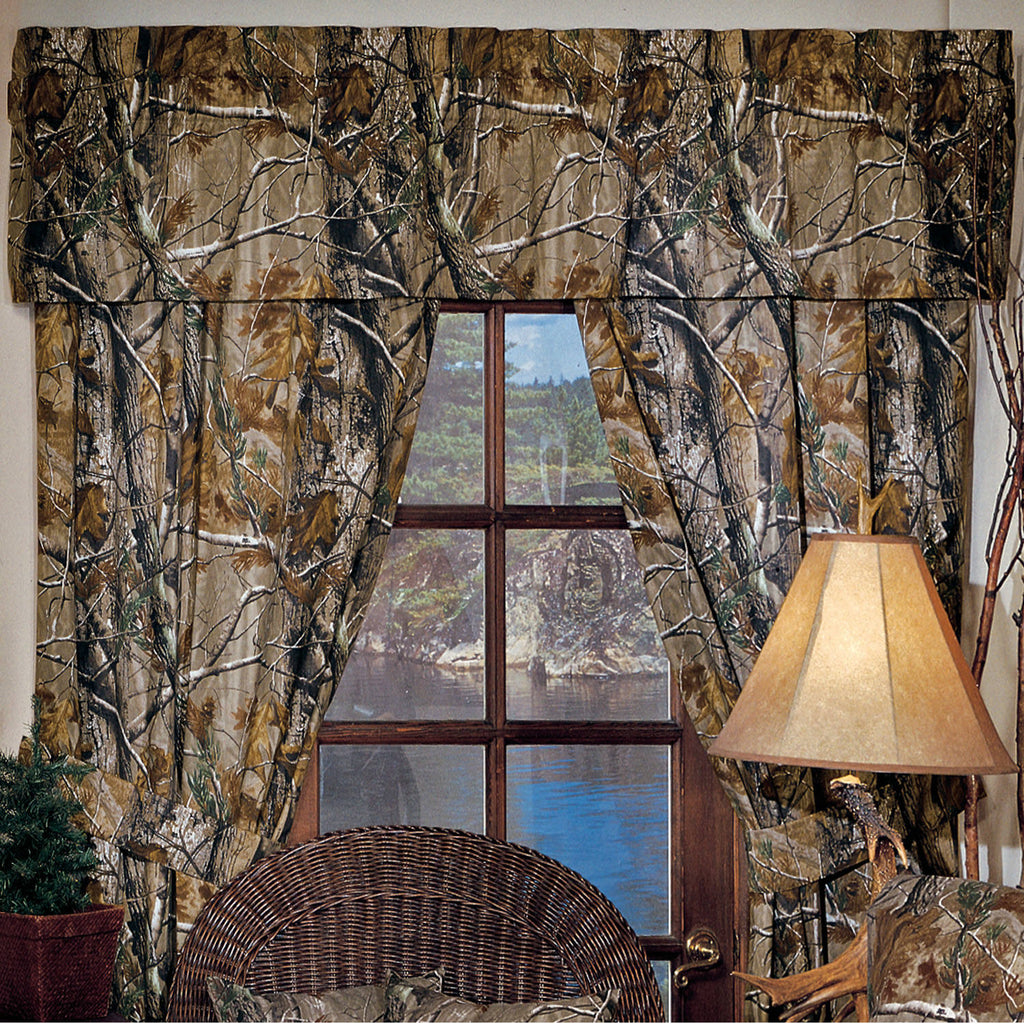Realtree All Purpose Drapes & Valance