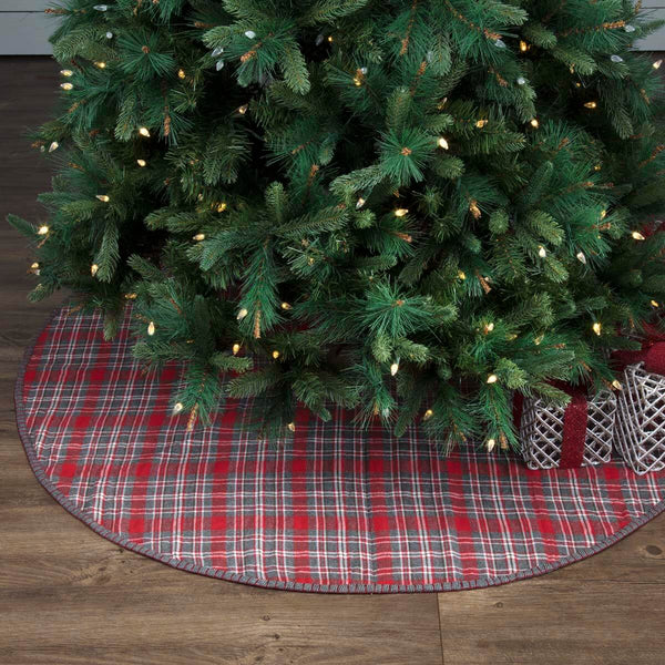 Anderson Plaid Tree Skirt 55""