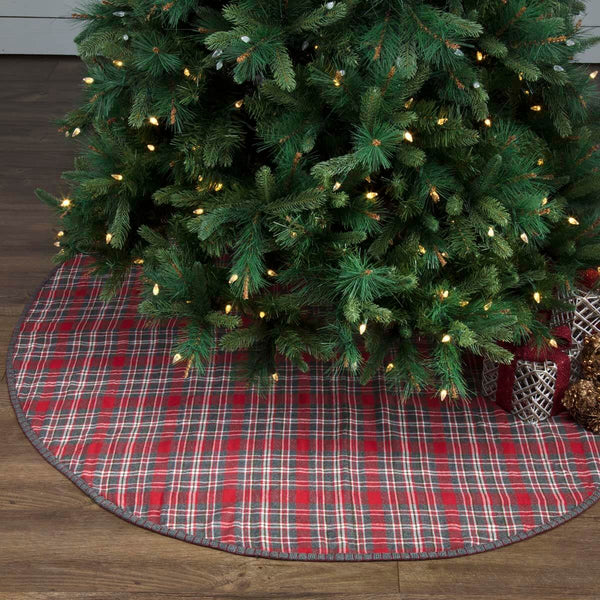 Anderson Plaid Tree Skirt 60""