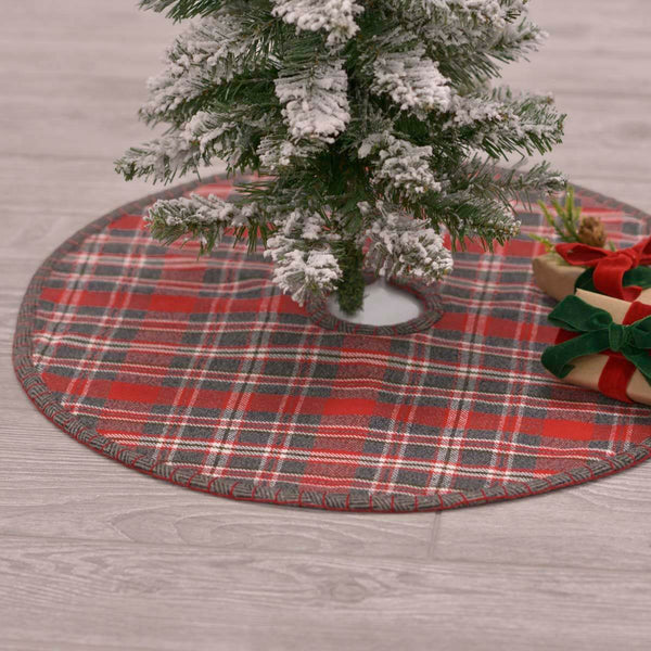 Anderson Plaid Tree Skirt 21""