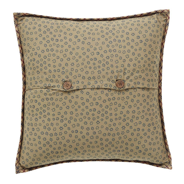 Arlington Quilted Pillow 16 x 16 Back