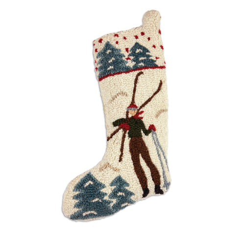 Back to the Lodge Christmas Stocking