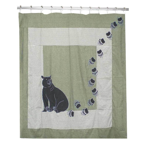 Bear Country Cool Shower Curtain