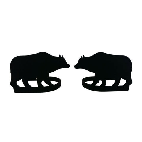 Bear Curtain Tie Backs Pair