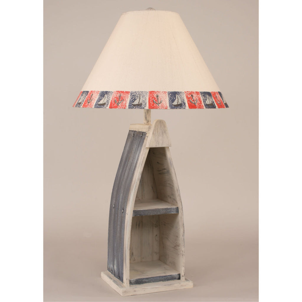 Boat Table Lamp - Navy Blue