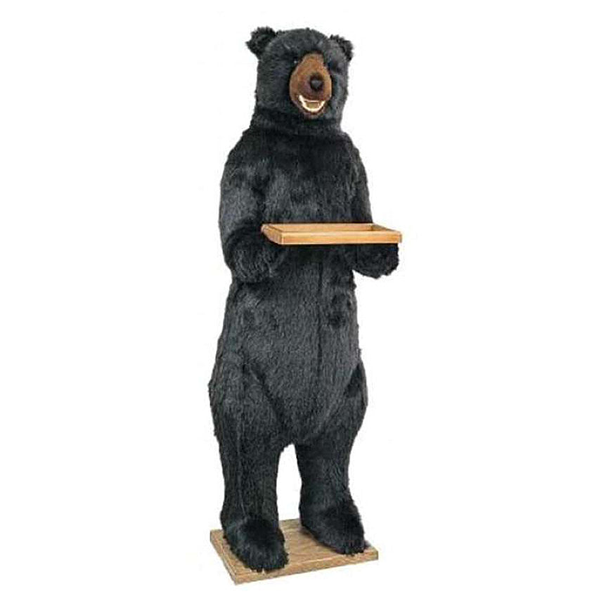Standing Butler Bear with Smile 58""