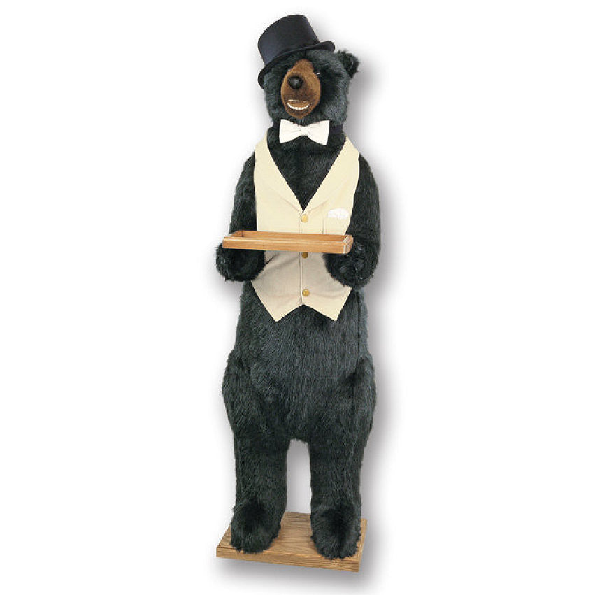 Standing Butler Party Bear 58""