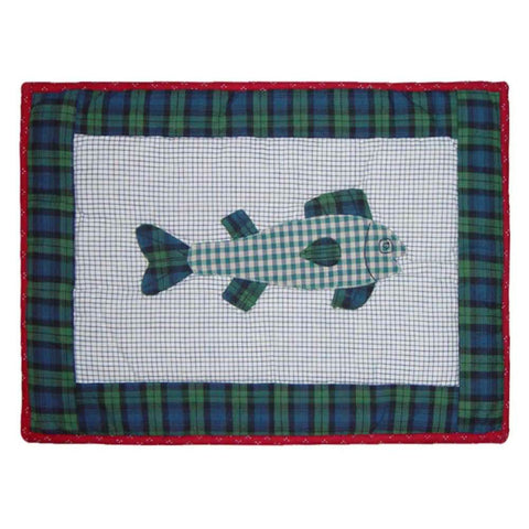 Cabin Fish Placemat Set