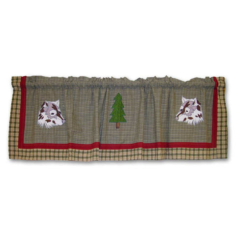Call of the Wild Curtain Valance