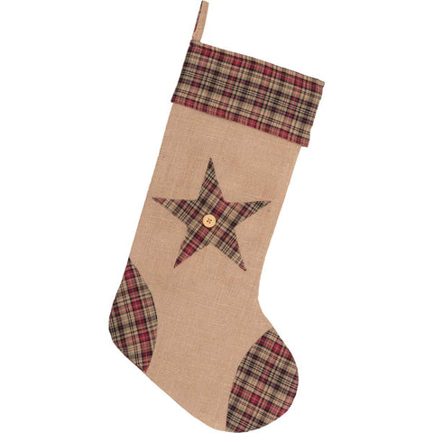 Clement Star Christmas Stocking Front
