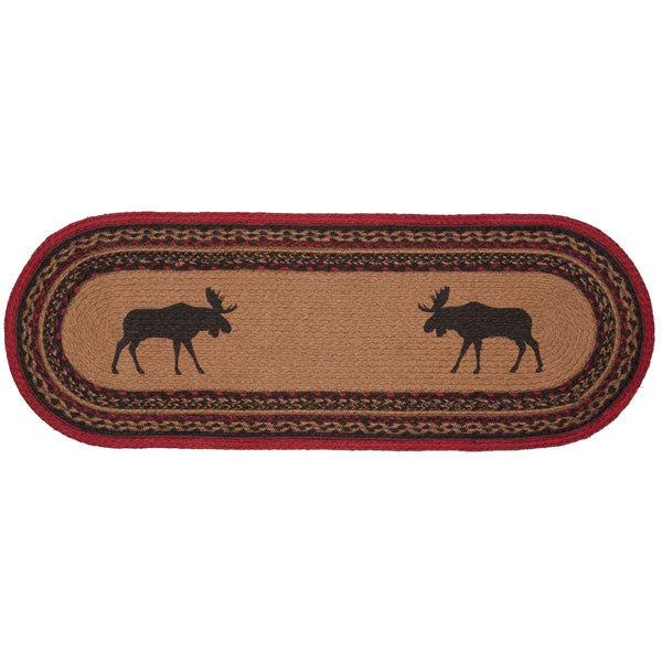 Cumberland Moose Table Runner Front