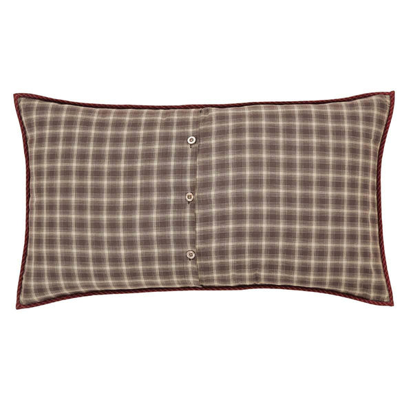 Dawson Star Quilt Luxury Sham Back