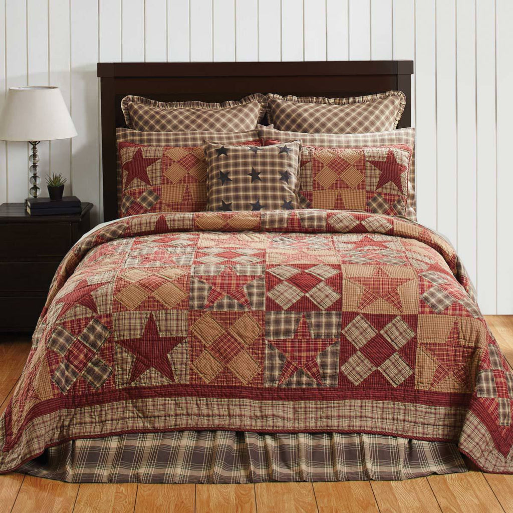 Dawson Star Quilt Bedding Collection