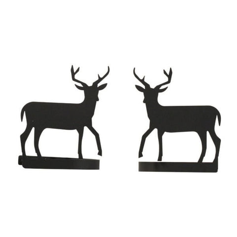 Deer Curtain Tie Backs Pair