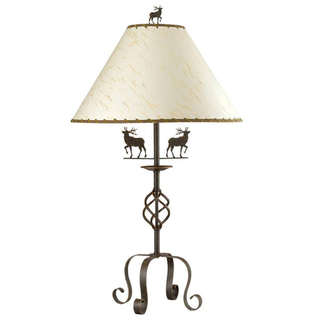 Deer Iron Table Lamp