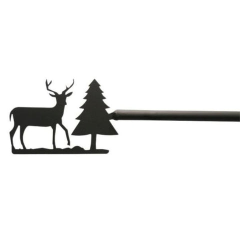 Deer & Pine Curtain Rod