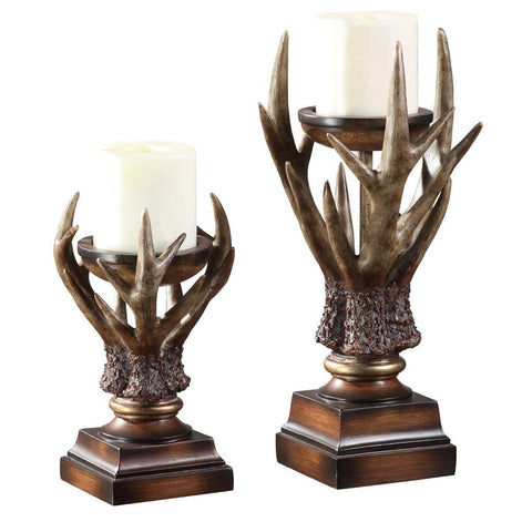 Deerfield Candle Holder Set of 2