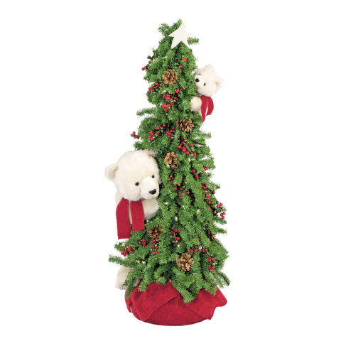 Climbing Christmas Play Polar Bear Tree 40""
