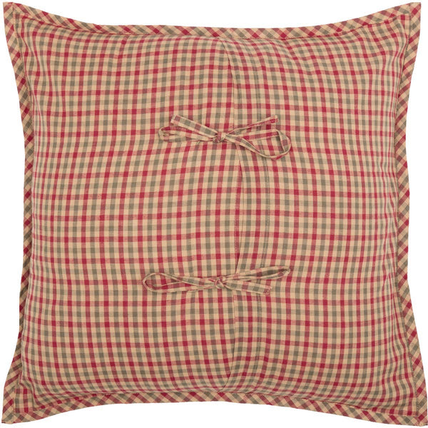 Dolly Star Quilt Patchwork Pillow Back
