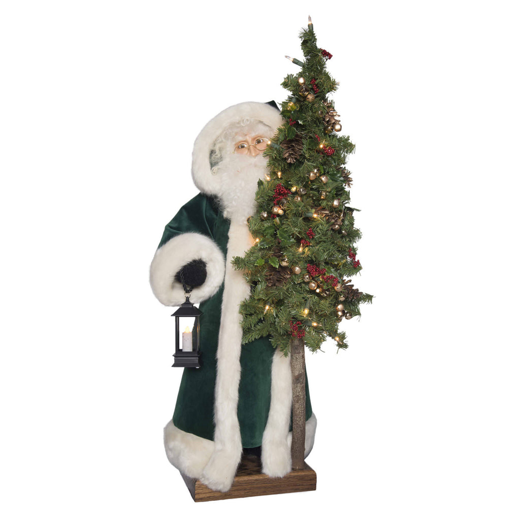 "Father Christmas - Evergreen Christmas"" Tabletop 29""H"
