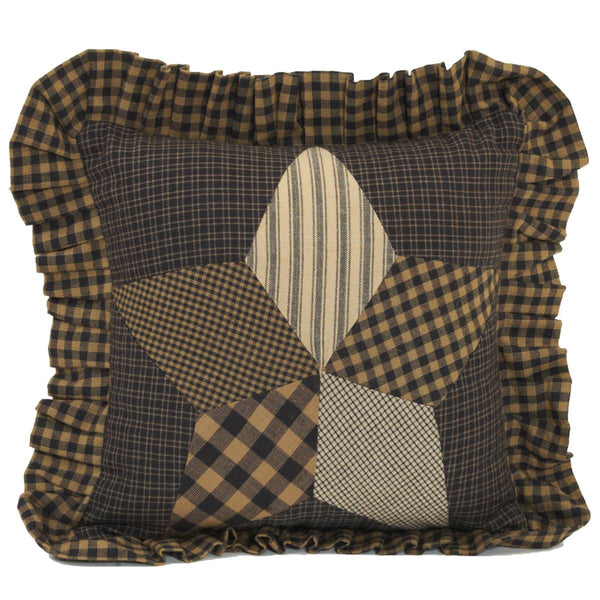 Farmhouse Star Quilted Pillow 10 x 10